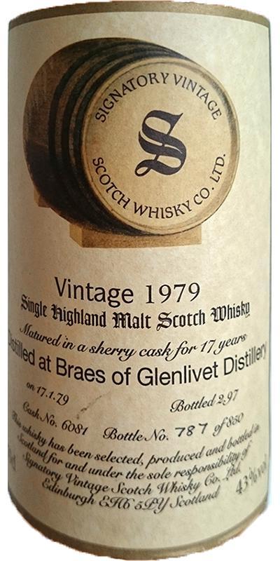 Braes of Glenlivet 1979 SV
