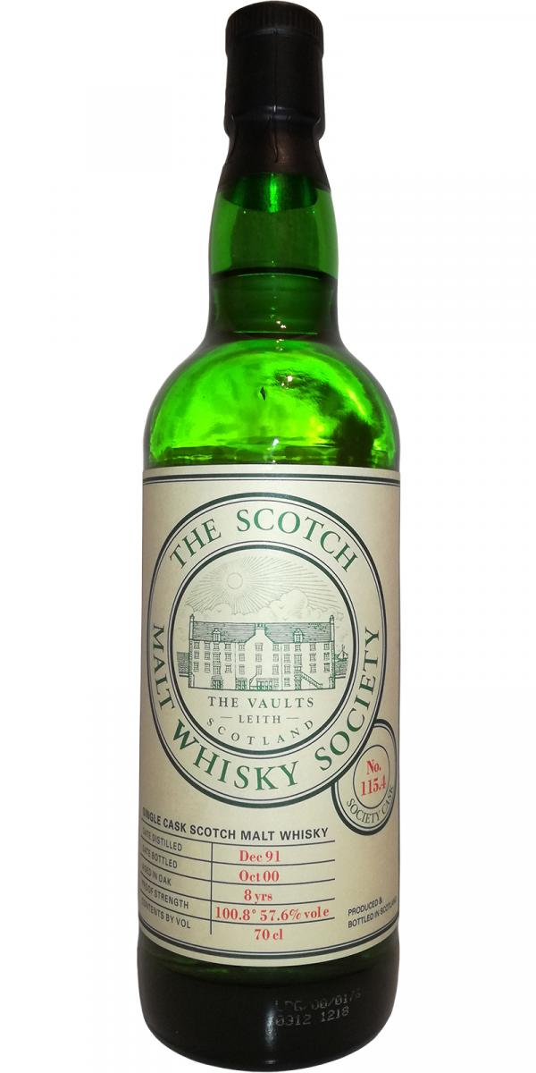 An Cnoc 1991 SMWS 115.4
