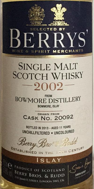 Bowmore 2002 BR