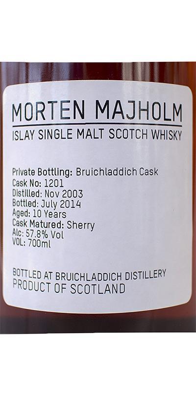 Bruichladdich 2003