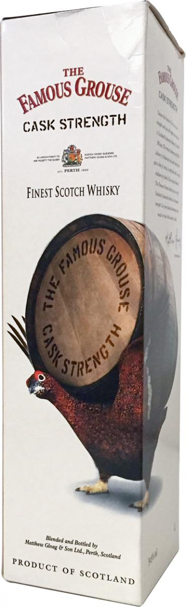 The Famous Grouse Cask Strength