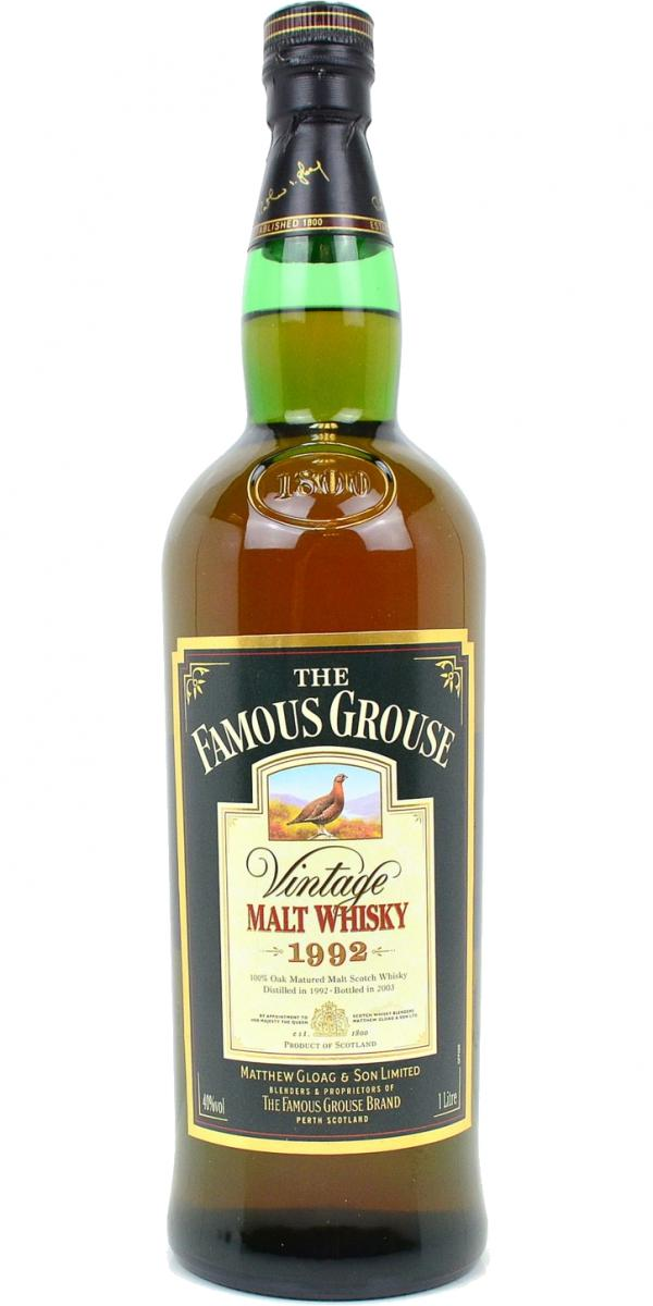 The Famous Grouse 1992
