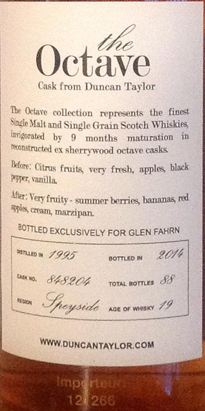 Glen Elgin 1995 DT