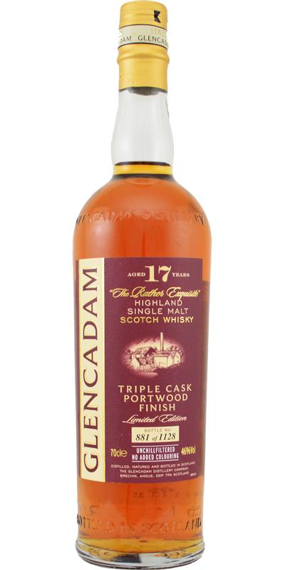 Glencadam 17-year-old Triple Cask Portwood Finish