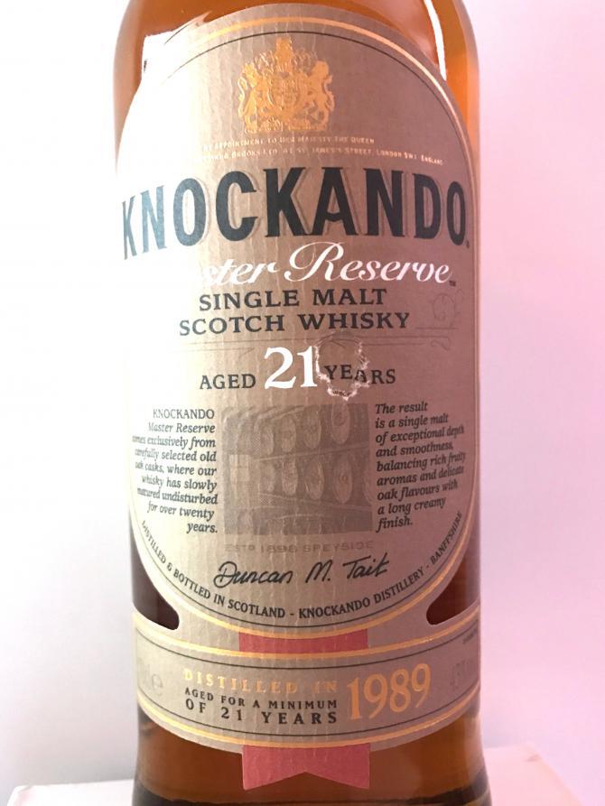 Knockando 1989
