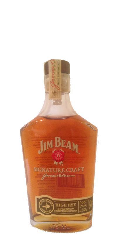 Jim Beam Signature Craft High Rye Ratings And Reviews