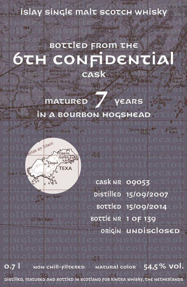 Confidential Cask 2007 KiW