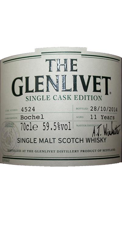 Glenlivet 11-year-old - Bochel