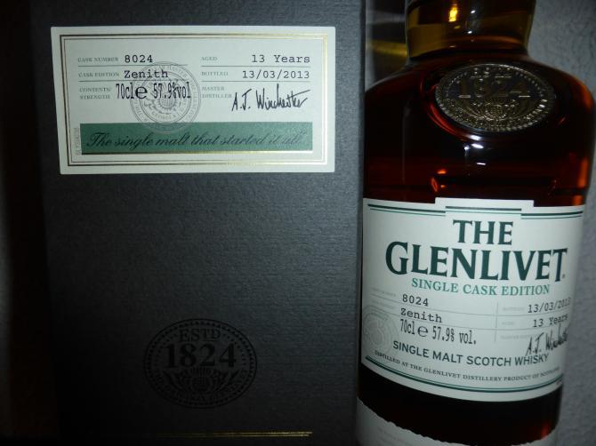 Glenlivet 13-year-old - Zenith