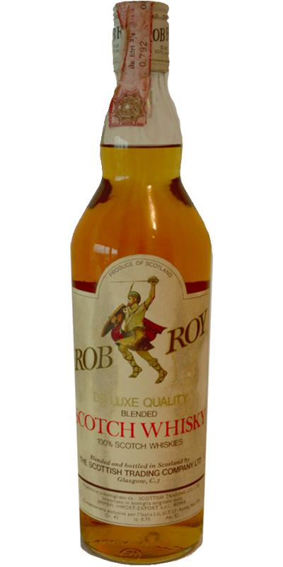 Rob Roy De Luxe Quality