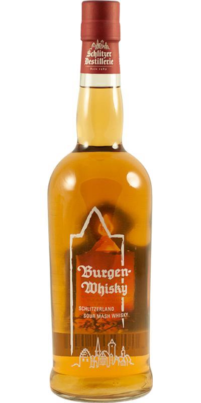 Burgenwhisky Schlitzerland Sour Mash Whisky