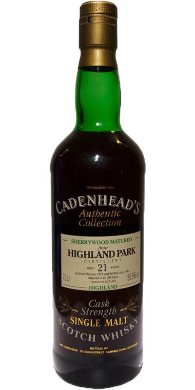 Highland Park 1972 CA