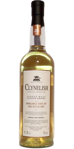 Clynelish Distillery Bottling
