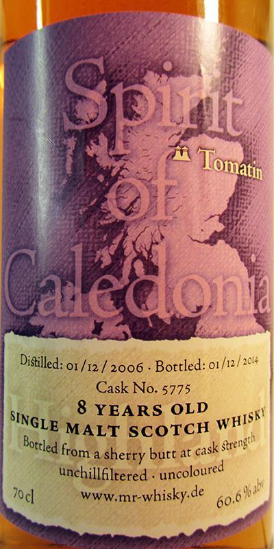 Tomatin 2006 MrW