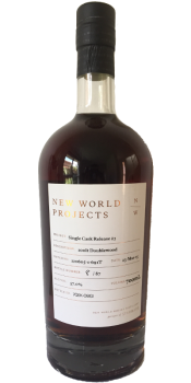 New World Projects Single Cask Release #3