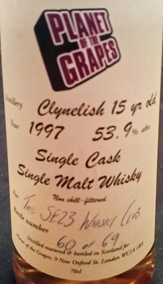 Clynelish 1997 PoG