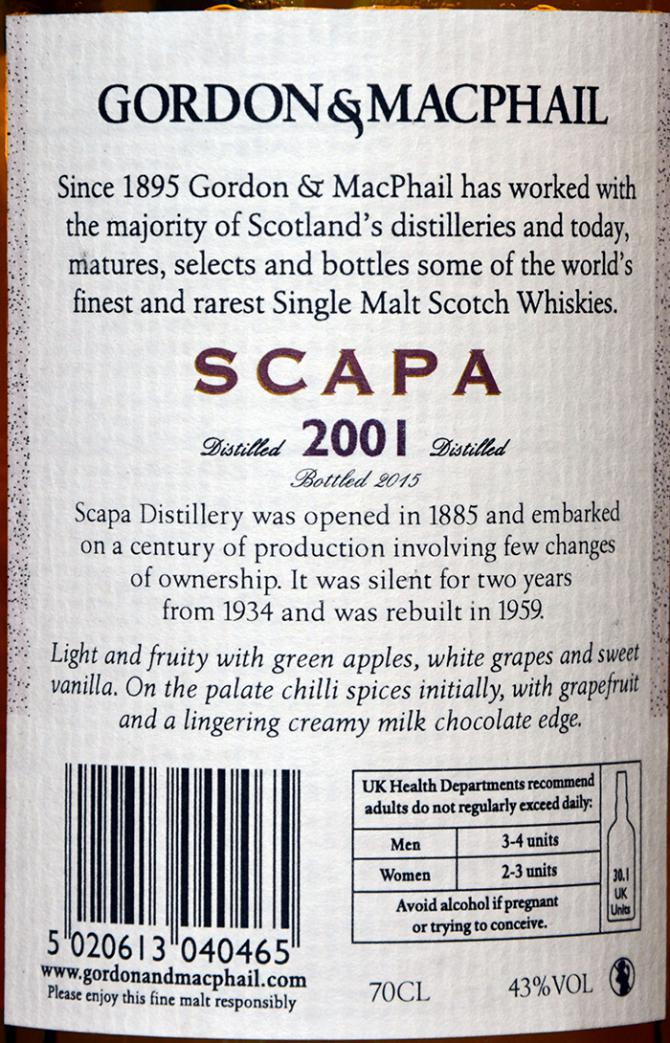 Scapa 2001 GM