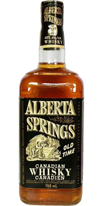 Alberta Springs Old Time