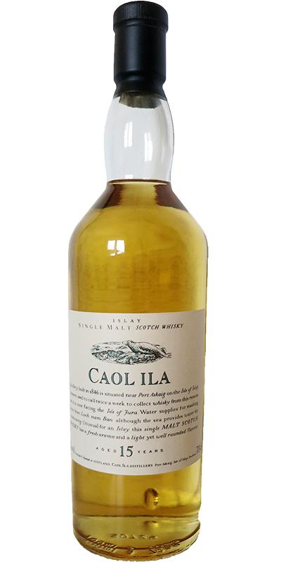 Caol Ila 15-year-old Wooden Box