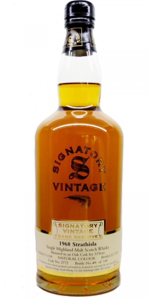 Strathisla 1968 SV