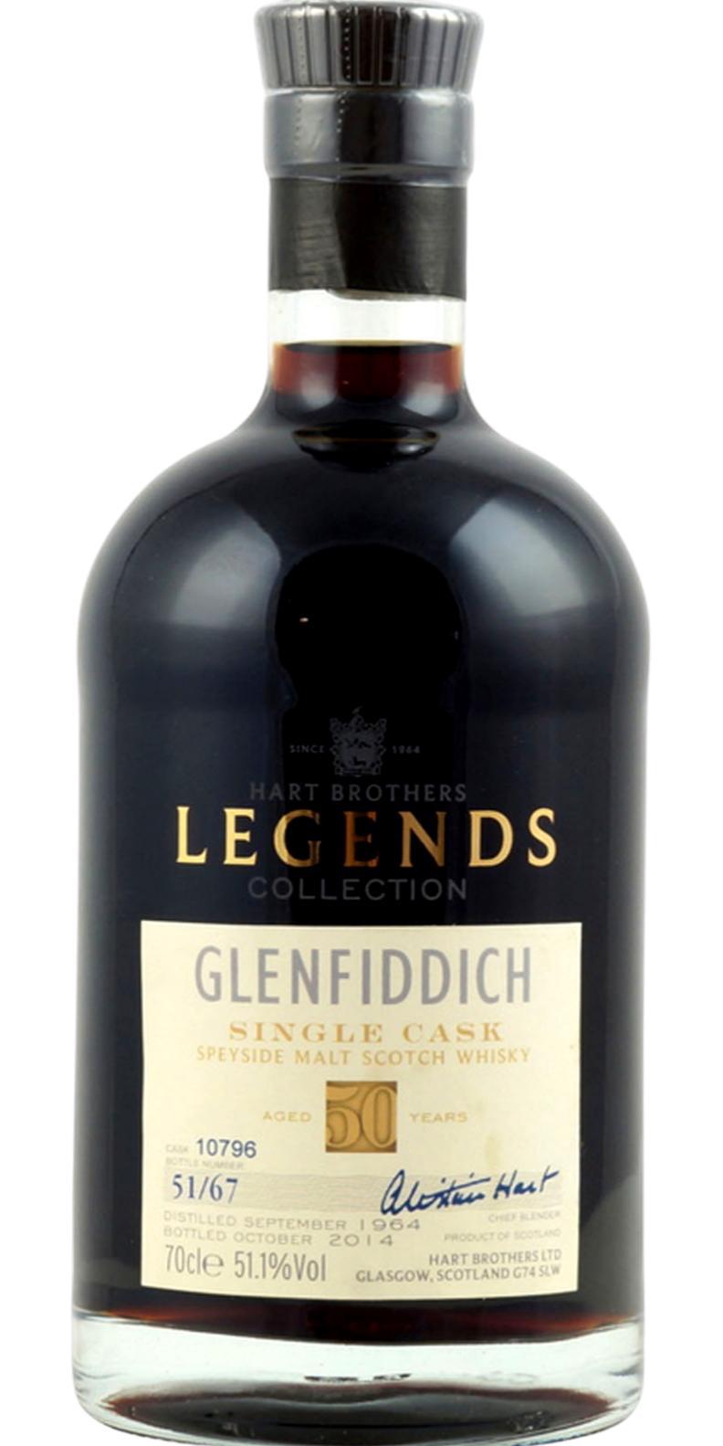 Glenfiddich 1964 HB