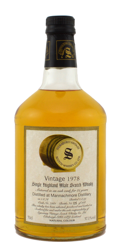 Mannochmore 1978 SV