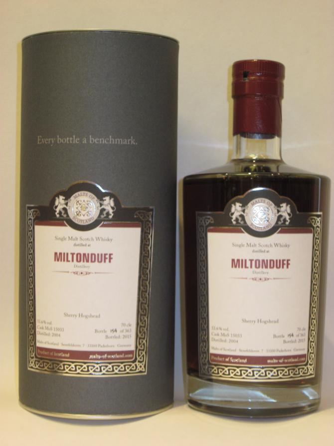Miltonduff 2004 MoS