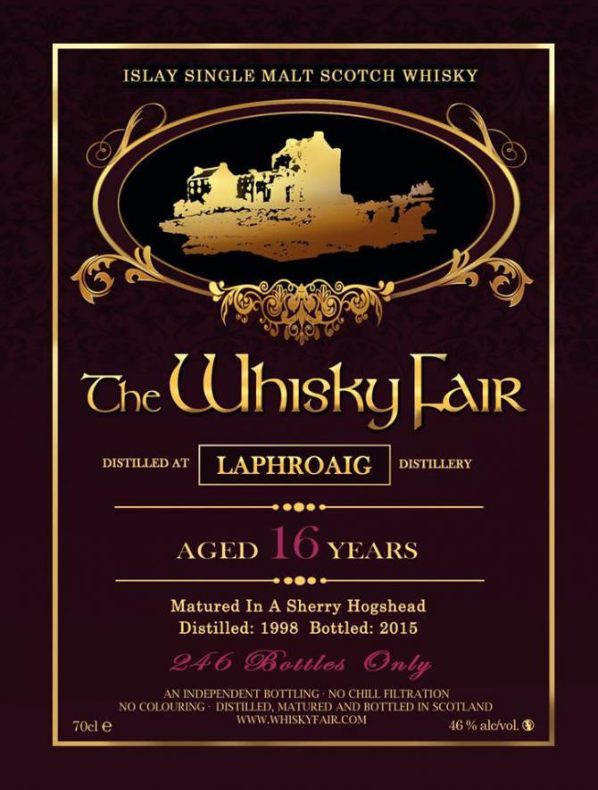 Laphroaig 1998 WF