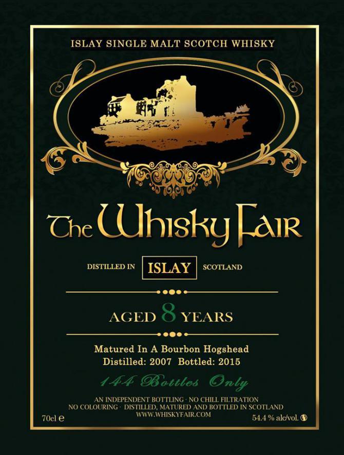 Islay Single Malt Scotch Whisky 2007 WF