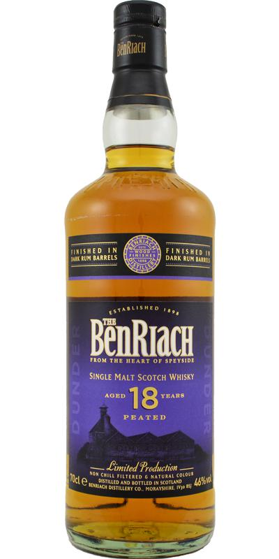 BenRiach 18-year-old - Dunder