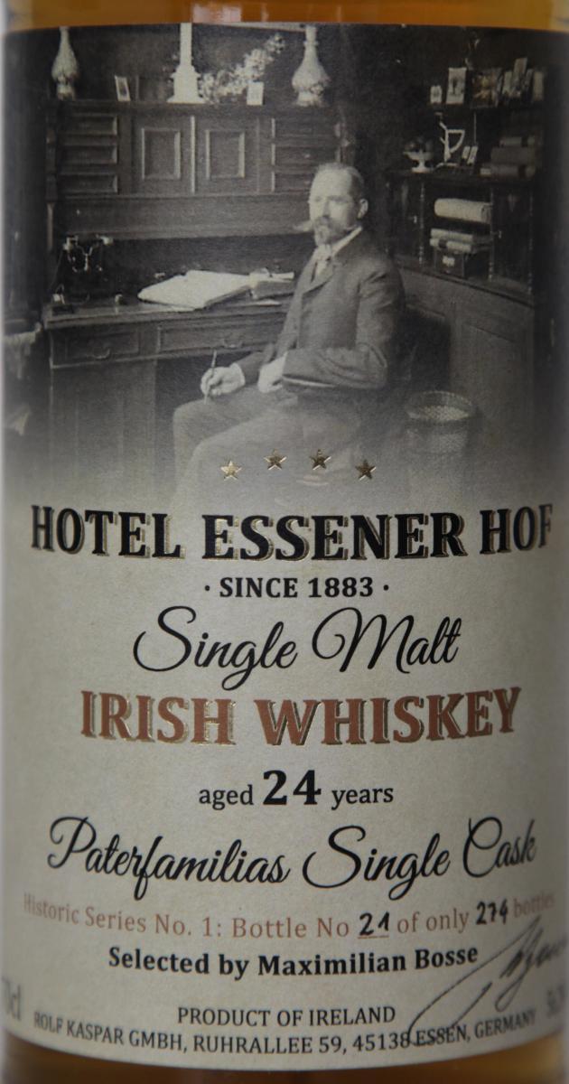 Single Malt Irish Whiskey 1991 RK