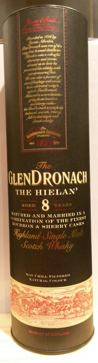 Glendronach 08-year-old The Hielan'