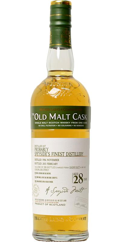 Probably Speyside's Finest 1986 HL