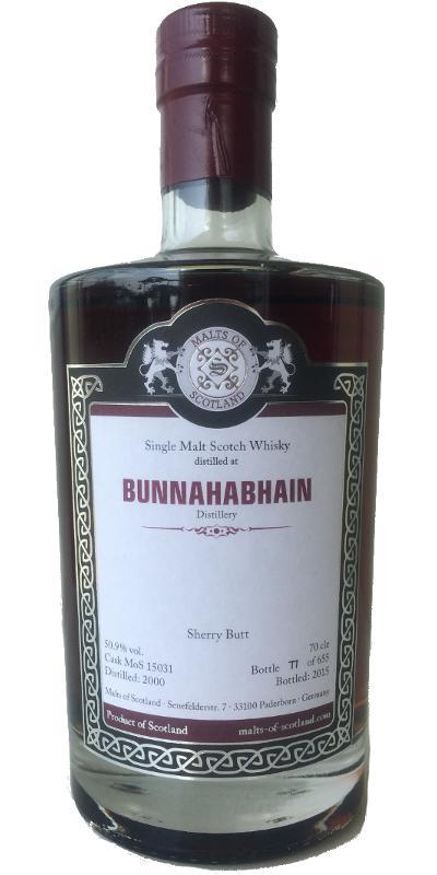 Bunnahabhain 2000 MoS