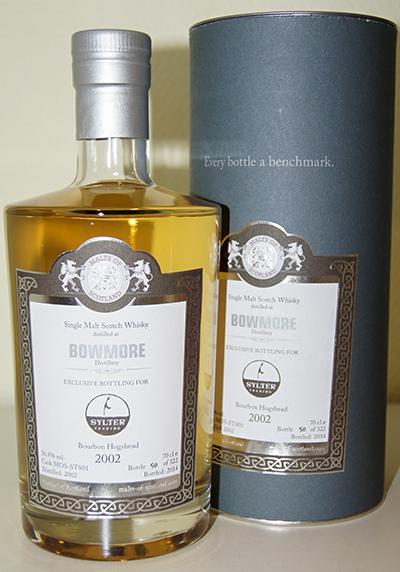 Bowmore 2002 MoS
