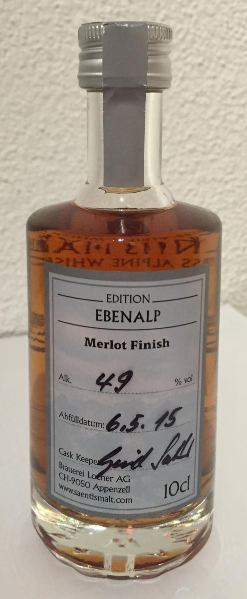 Säntis Malt Whiskytrek - Edition Ebenalp