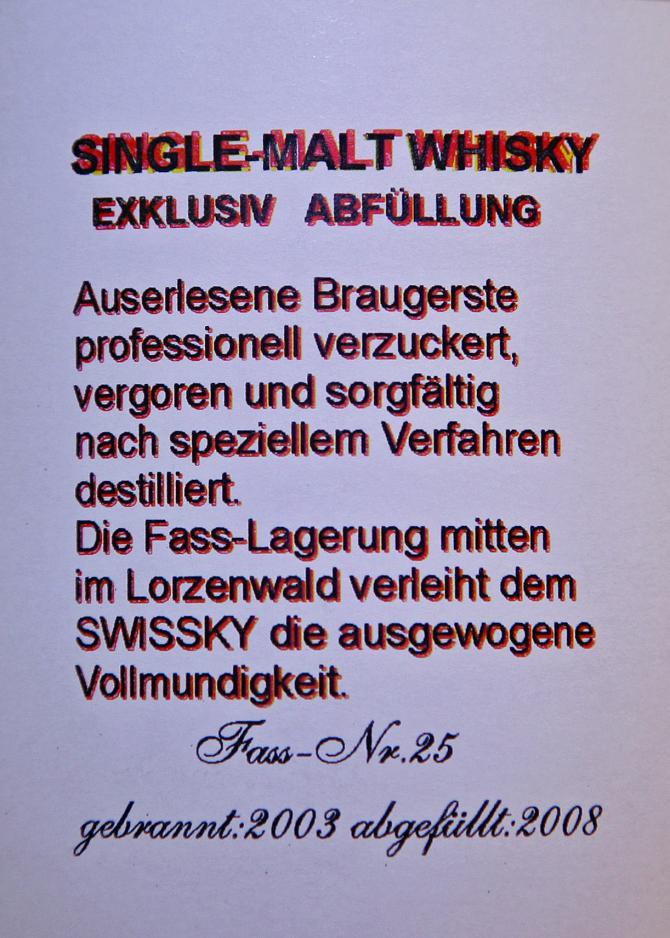 Swissky 2003 Getreidebrand