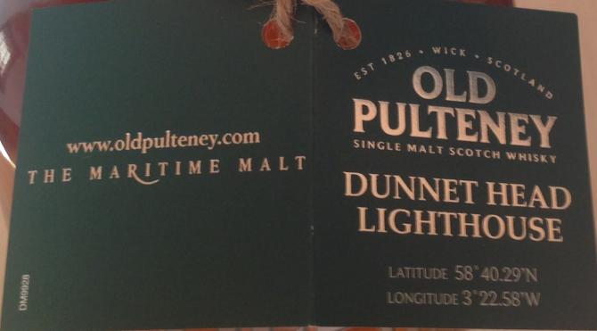 Old Pulteney Dunnet Head