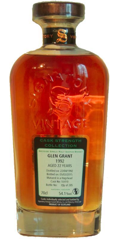 Glen Grant 1992 SV