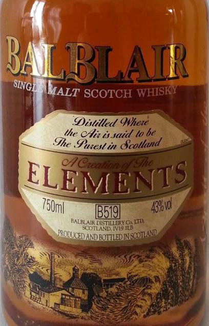 Balblair Elements