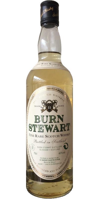 Burn Stewart Fine Rare Scotch Whisky