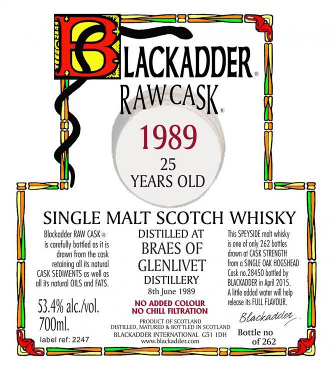 Braes of Glenlivet 1989 BA