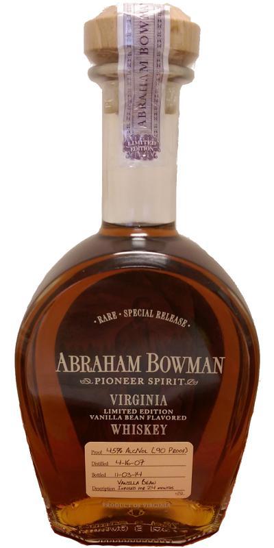 Abraham Bowman 2007