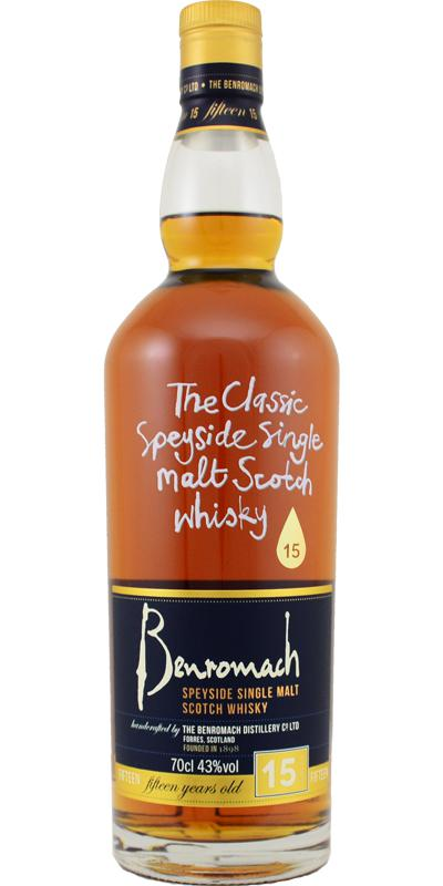 Benromach 15-year-old