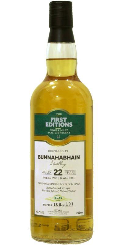Bunnahabhain 1991 ED