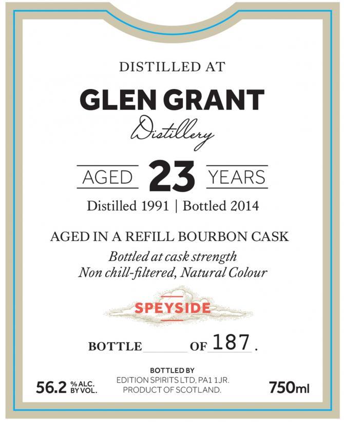Glen Grant 1991 ED