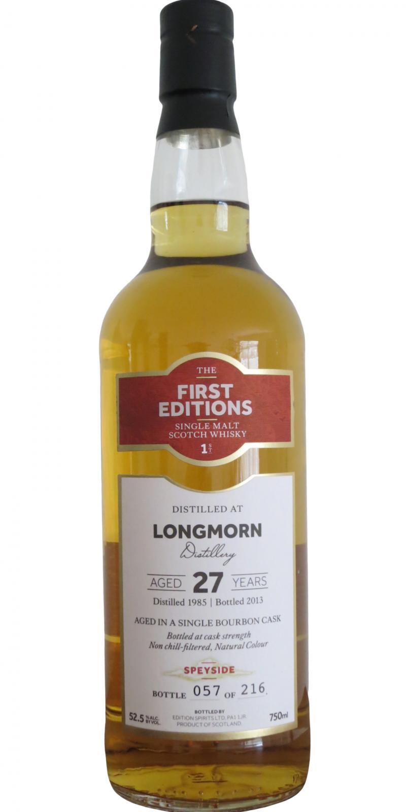 Longmorn 1985 ED