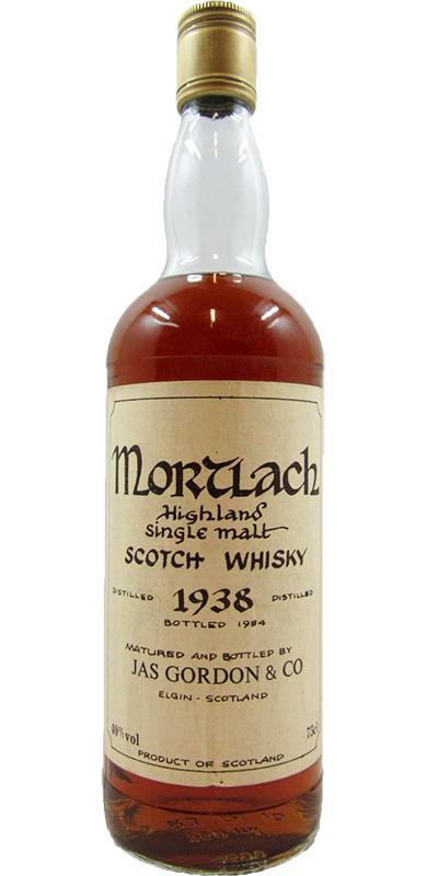 Mortlach 1938 JG