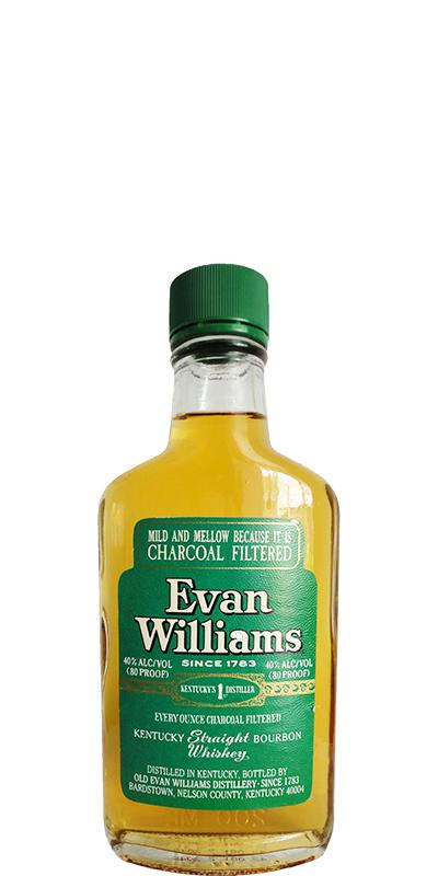 Evan Williams Green Label - Ratings and reviews - Whiskybase