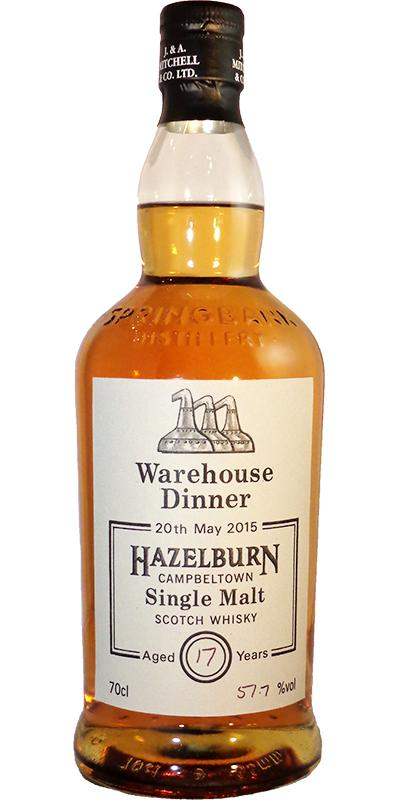 Hazelburn 17-year-old